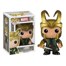 Funko Pop! Marvel Loki Thor The Dark World Gold Helmet Vaulted #36