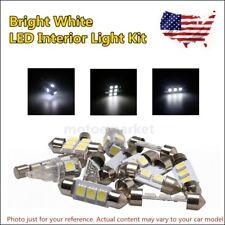 US 7Pcs White Bulb Kit Car LED Interior Light Package For 2011-14 Hyundai Sonata