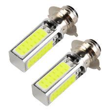 COB LED Headlight Bulb For Yamaha YFM 200 DX DR E ER 225 DR DX Blaster 200 Moto