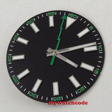 Mingzhu Dg2813 Movement (Dial + hands) 30.8mm black luminous Watch Dial for