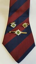 Scots Guards Tie Grip, Cuff Links & Striped Guards Tie Gift set