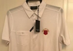 Glenmuir Mens Kelso Plain Colour Tailored Collar Golf Shirt with Front Pocket