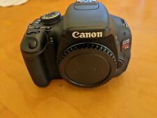 Canon EOS Rebel T3I 18 MP Digital SLR Camera - Black (Body Only)