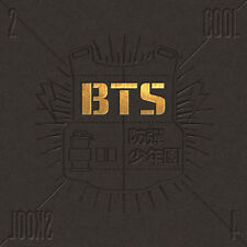 BTS 2 Cool 4 Skool 1st Single Album CD K-pop Bangtan Boys
