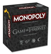 NEW MONOPOLY GAME OF THRONES DELUXE COLLECTOR'S EDITION BOARD GAME 171701-5