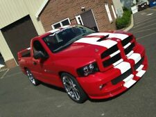 "DODGE RAM TRUCK 10"" Twin DUEL Vinyl Racing Stripes Graphic Decal Sticker 36 FEET"