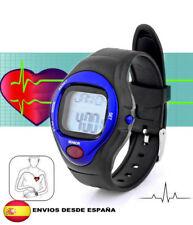 reloj pulsometro contador de calorias para deporte gimnasio (azul)