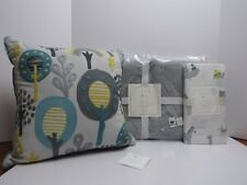 3 Pc Pottery Barn Kids Dash Nursery Bedding, Quilt, Crib Sheets, Pillow! Nwt