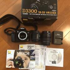 NIKON D3300 plus lenses two 35mm monofocal