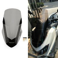 ABS Windscreen Windshield Deflector For Yamaha 2016-18 NMAX155 N-MAX 155 Smoke