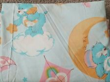 Care Bears 1980s Twin Sheet great condition clean snuggle dream