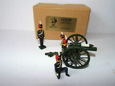ASSET LANCER KING'S TROOPS R.H.A 13 PDR GUN & CREW REVIEW ORDER BOXED (BS1173)