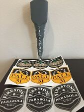 Firestone Blank Tall Tap Handle with 3-sets of Different Stickers