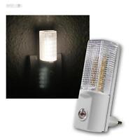 LED-Nachtleuchte mit Tag/Nacht-Sensor, Orientierungslicht, Nachtlicht warmweiß