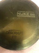 TI NUKE SS  171 green color shift  used Discraft disc golf  TITANIUM  OOP