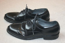 Florsheim Black Patent Leather Lace Up Shoes Size 11.5 M Oxfords Dress Brazil
