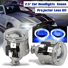 Blue Angel Eye 2.5'' HID Bi-xenon Headlight Projector Lens Retrofit H1 H4 H7 HOT