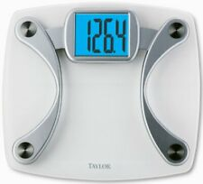 Taylor 7568 Glass Electronic Scale - 440 Lb / 200 Kg Maximum Weight Capacity -