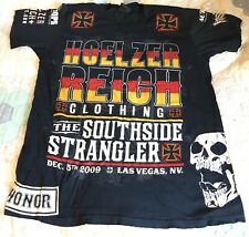 BANNED COMPANY Hoelzer Reich Walkout Shirt Joe Brammer UFC Fight Worn Event Used