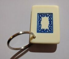 Mahjong white dragon soap Keychain Game Piece Gift Idea Kansas City plastic