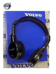 Genuine Volvo Headphones Head Set - S80 V70 XC60 XC70 XC90