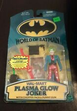 "New 1999 World Of Batman Plasma Glow Joker Figure 4 1/2"" Wal-Mart Exclusive"