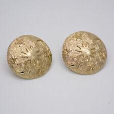 infeein jewelry matte gold tone planet stars moon sun large clip on earrings