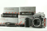 [MINT] Mamiya 645 Pro TL Body + AE Prism Finder + 120 Film Back From JAPAN 466
