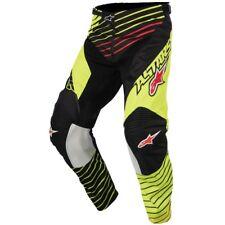 Taglia 30-46 Pantaloni Alpinestars Racer Braap Giallo Fluo Nero Cross Mx