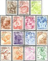 Vietnam 1529-1543 (kompl.Ausg.) gestempelt 1984 Freimarken: Tiere und Pflanzen