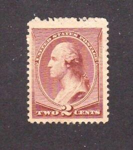 United States stamp #210, MHOG, VF - VVF, SCV $42.50