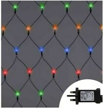180~360 LED String Fairy Chaser Lights Net Mesh Curtain Xmas Party Wedding Timer