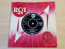 """Elvis Presley/Are You Lonesome Tonight?/1960 RCA 7"""" Single"""
