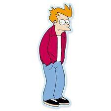 "Futurama Philip Fry Vynil Car Sticker Decal  -4 Pack 3"""