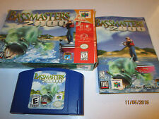 NINTENDO N64 GAME BASSMASTERS 2000 COMPETE WITH BOOKLET AND ORIGINAL BOX