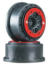 Pro-Line Split Six 2.2/3.0 Bead Lock Wheels Black/Red