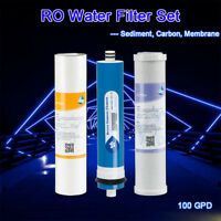 Carbon,Sediment,Membrane Filter Replace for Hydro Logic Stealth RO100 Hydrologic