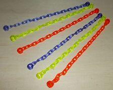 Nr.6820 Lego 30104 Castle 6 Ketten 3 transp. Farben: neon gelb, neon orange lila