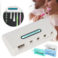 UV Toothbrush Sanitizer Cleaner Storage Holder Box Ultra Violet Dental Oral Care