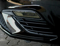 C029 Nebelscheinwerfer Blenden Aufkleber Folie Set Dark Seat Leon 5F Facelift
