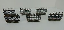 Dept 56 Halloween Spooky Wrought Iron Fence #52982 Never Displayed