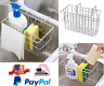 Kitchen Sponge Sink Holder Caddy Scrubber Drain Rack Hanging Storage