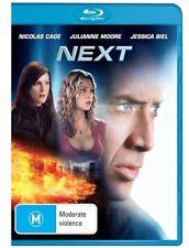 Next ; NICOLAS CAGE (Blu-ray, 2009) BRAND NEW & SEALED - FREE POST!!