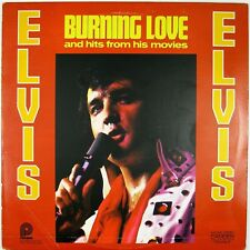 ELVIS PRESLEY Burning Love And Hits From His Movies Vol 2. LP 1972 ROCK VG++ NM-