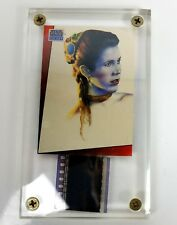 Topps Leia Organa Card and Film Strip in Acrylic Plus Toys/Figurines