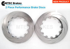 GTR R35 Front 380mm x 34mm Compatibile Rotors Brake Discs Pair 2007-2010
