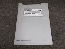 1992-1997 Audi S4 A6 S6 Transmission 097 Service Repair Manual 1994 1995 1996