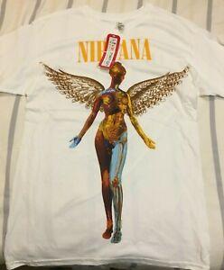 NIRVANA IN UTERO T-Shirt Official Merch, 100% Genuine,Australian Stock  S,M,L,XL