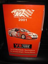AUTOart 1:18 scale 2001 Bathurst Winner HRT Holden Commodore twin-set M Skaife