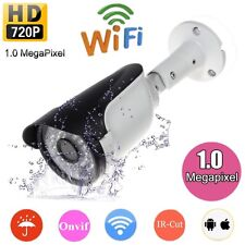 Wireless WIFI HD 720P Security IP Camera ONVIF IP66 Waterproof Night Vision